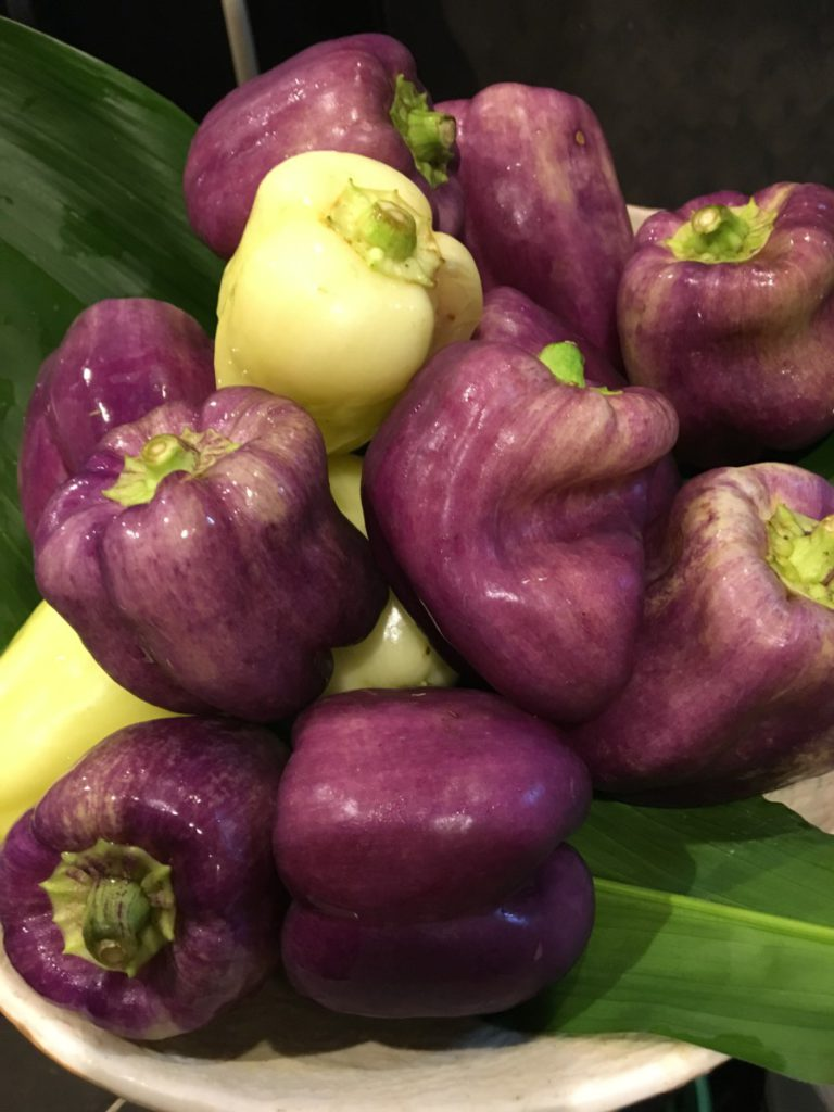紫ピーマン